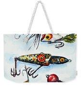 Mini Study- Fishing Lures Weekender Tote Bag