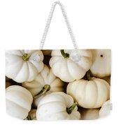 Mini White Pumpkins Weekender Tote Bag