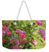 Miniature Fuchsia Roses Weekender Tote Bag