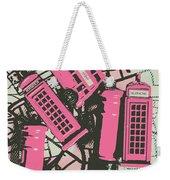 Miniature London Town Weekender Tote Bag