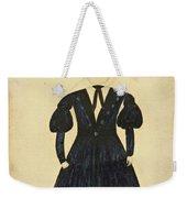 Miniature Portrait Of Charles Weekender Tote Bag