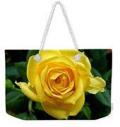 Miniature Yellow Rose Weekender Tote Bag