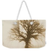 Minimal Winter Tree Weekender Tote Bag