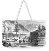 Mining Camp, 1860 Weekender Tote Bag