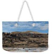 Mining Town Panorama Weekender Tote Bag by Angus Hooper Iii