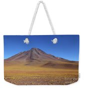 Miniques Volcano And High Altitude Desert Chile Weekender Tote Bag
