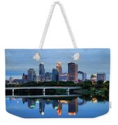 Minneapolis Reflections Weekender Tote Bag