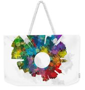 Minneapolis Small World Cityscape Skyline Abstract Weekender Tote Bag
