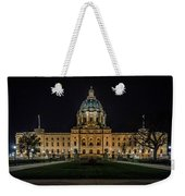 Minnesota Capital At Night Weekender Tote Bag