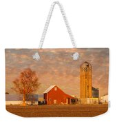Minnesota Farm At Sunset Weekender Tote Bag