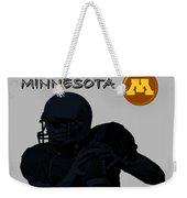 Minnesota Football Weekender Tote Bag