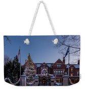 Christmas Lights Series #6 - Minnesota Governor's Mansion Weekender Tote Bag