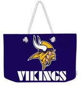 Minnesota Vikings Weekender Tote Bag