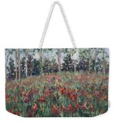 Minnesota Wildflowers Weekender Tote Bag by Nadine Rippelmeyer