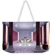 Minoan Temple Weekender Tote Bag by Corey Ford
