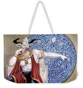 Minotaur With Mosaic Weekender Tote Bag