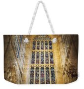 Minster Window Weekender Tote Bag