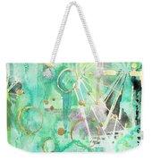 Mint Bling Weekender Tote Bag