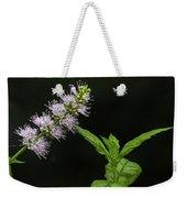 Mint Flower Weekender Tote Bag