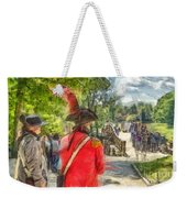 Minuteman And Redcoat Concord Ma Pencil Weekender Tote Bag