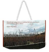 Miracle Landscape And Inspiration Weekender Tote Bag