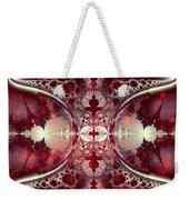 Mirror Gateway / Crop / Red Stars Weekender Tote Bag