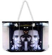 Mirror Image Weekender Tote Bag