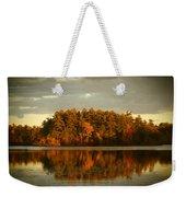 Mirror Lake Image Of Fall Weekender Tote Bag
