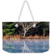 Mirror Mirror On The Pond Weekender Tote Bag