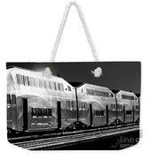 Mirror Of The Winter Sun Bw Weekender Tote Bag