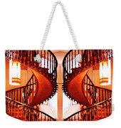 Mirrored Stairs Weekender Tote Bag