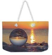 Mirrored Sunrise Weekender Tote Bag