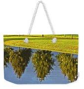 Mirroring Trees Weekender Tote Bag by Heiko Koehrer-Wagner