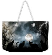 Mischief Times Four Weekender Tote Bag