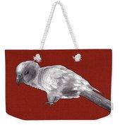 Mischievous Bird Weekender Tote Bag