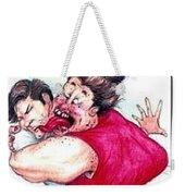 Misletoe Weekender Tote Bag