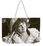 Miss Marie Studholme As Lady Madcap 1905 Weekender Tote Bag