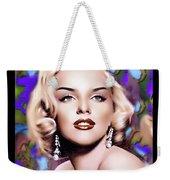 Miss Monroe Weekender Tote Bag