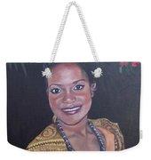 Miss Tropical Weekender Tote Bag
