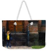 Missed Bus Weekender Tote Bag