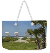 Mission Beach Shelters Weekender Tote Bag