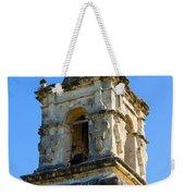 Mission Bell Tower Weekender Tote Bag