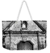 Mission Concepcion Front - Classic Bw Weekender Tote Bag