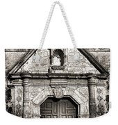 Mission Concepcion - Bw Toned Border Weekender Tote Bag