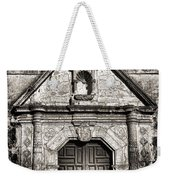 Mission Concepcion Front - Toned Bw Weekender Tote Bag