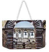 Mission Gate And Bells Weekender Tote Bag