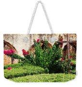 Mission San Jose' Flora Beauty Weekender Tote Bag