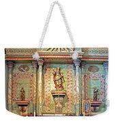 Mission San Miguel Arcangel Altar, San Miguel, California Weekender Tote Bag