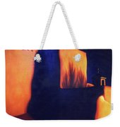 Mission St Francis Assisi At Dusk Weekender Tote Bag