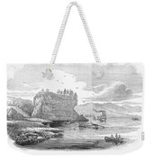 Mississippi River, 1854 Weekender Tote Bag